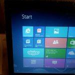 Installing a Microsoft Windows 8 laptop and transferring data at Kenilworth near Warwick in Warwickshire